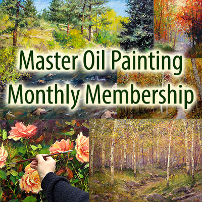 Master Oil Painting Monthly Videos Membership