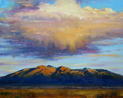 Bill_Inman_On_the_Way_Home_16x20_Cloud_Mountain_Oil_Painting