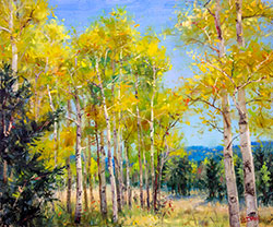 Perfect Day for a Hike Oil Painting | Broadmoor Galleries