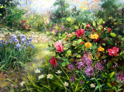 Bill_Inman_Botanical_Busybodies_30x40_Oil_Painting