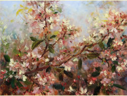 Cherry-Blossom-oil-painting