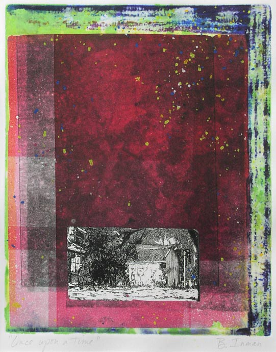 Once Upon a Time | 10x8 | Monoprint